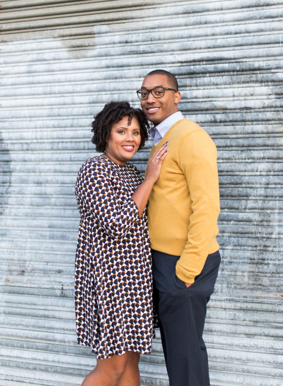McAllister-and-Cornell-168-960x1310 Downtown Raleigh Engagement Session with Vintage Style