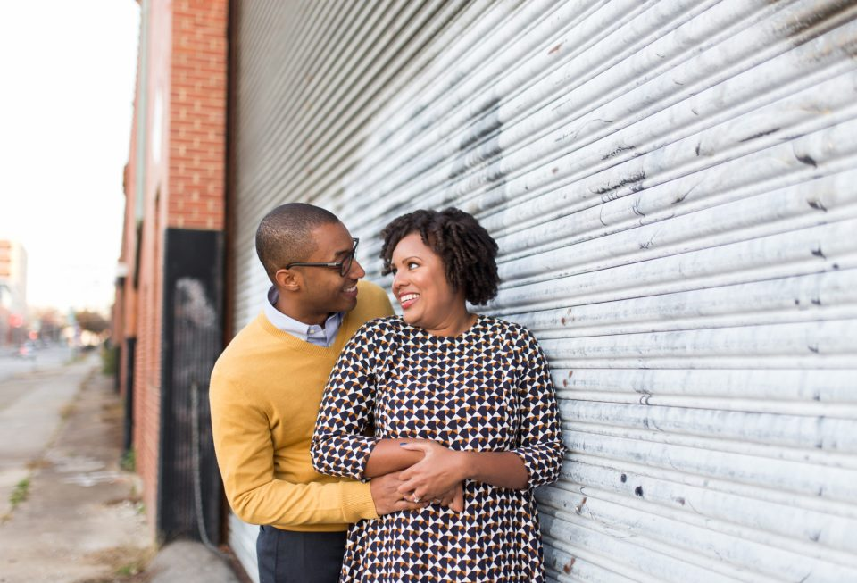 McAllister-and-Cornell-174-960x653 Downtown Raleigh Engagement Session with Vintage Style