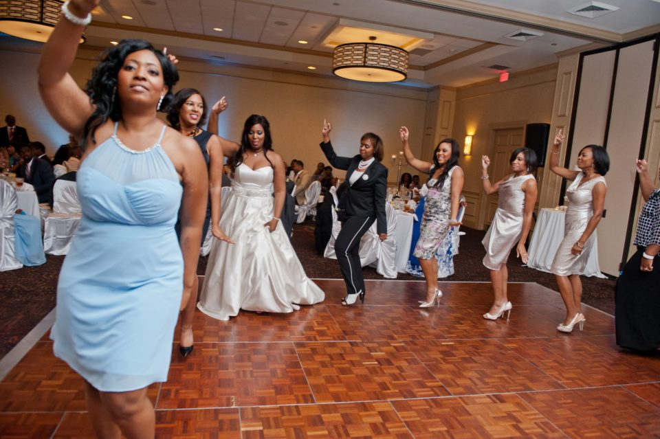 HUD_1453-960x639 FAMU Love Blossoms in Blue and Yellow Georgia Wedding