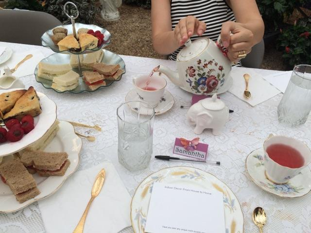 An-Event-Just-Begun Serving Tea and Staying Southern,  Patricia Bradby  of Miss Priss Tea