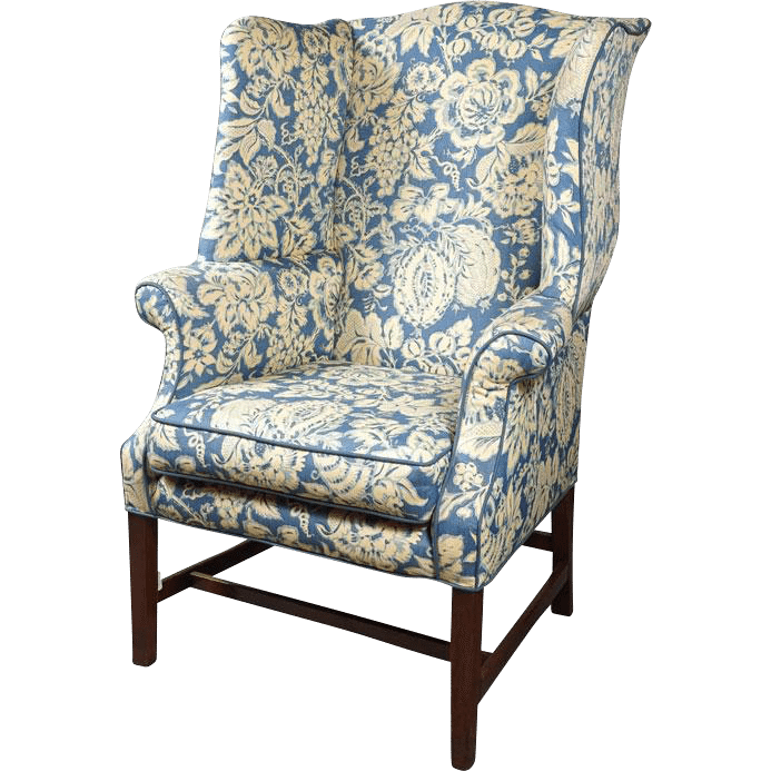 George-III-Wingback-Chair Southern Designing Tips from Founder/CEO Tom Johnson of RubyLUX