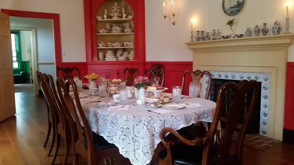 Gracefield Hall Tea