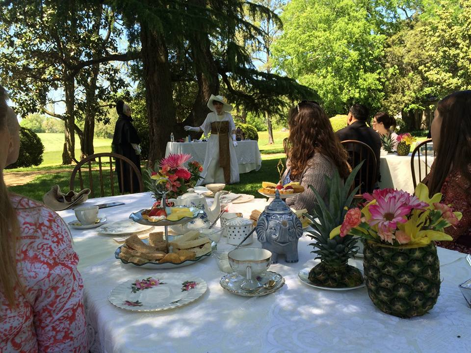 Historic-Garden-Week-Tea-960x720 Serving Tea and Staying Southern,  Patricia Bradby  of Miss Priss Tea