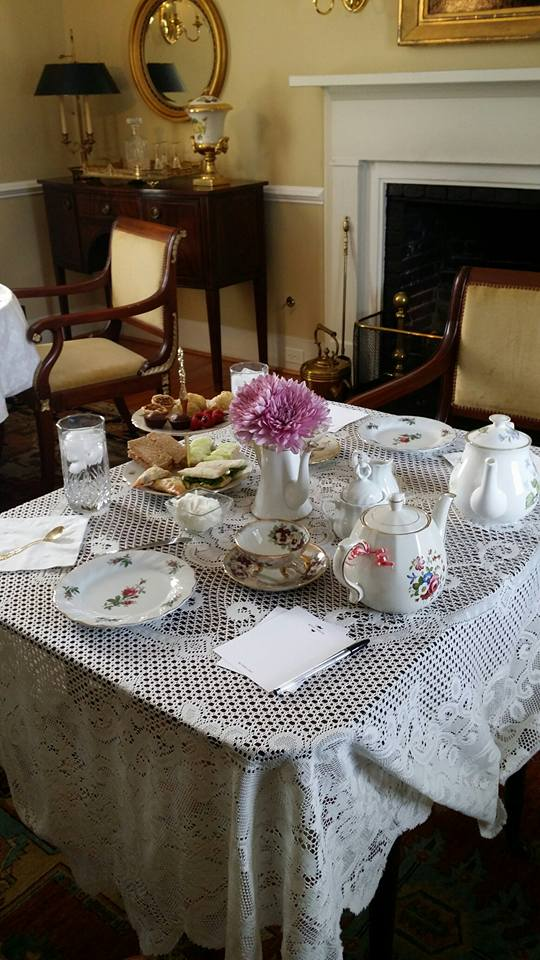 Moss-Side-Manor-Tea-Parlor Serving Tea and Staying Southern,  Patricia Bradby  of Miss Priss Tea
