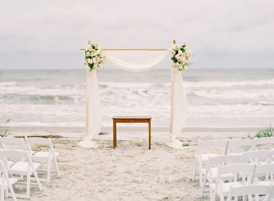 beachceremonysimple-960x706 3 Tips to Plan a Lowcountry Wedding from the Omni Hilton Head Oceanfront Resort