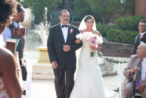 1344-595x397 Southern Inspired, Greensboro, NC Wedding