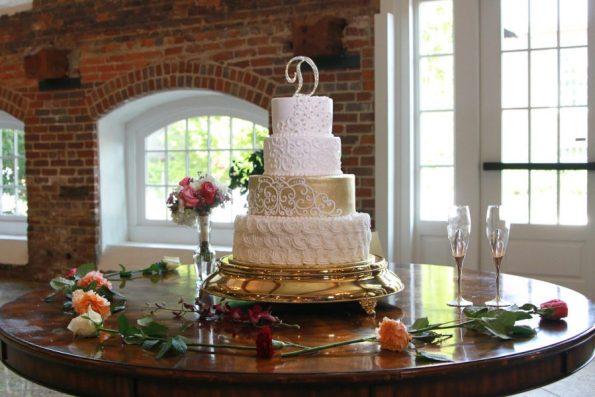 203-595x397 Southern Inspired, Greensboro, NC Wedding