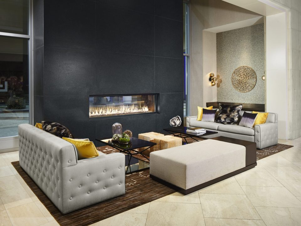 LVH _Lobby Fireplace