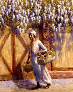 Edwin-A.-Harleston-A-Vendor 10 Pieces of Art a Black Southern Belle Should Have in her Home