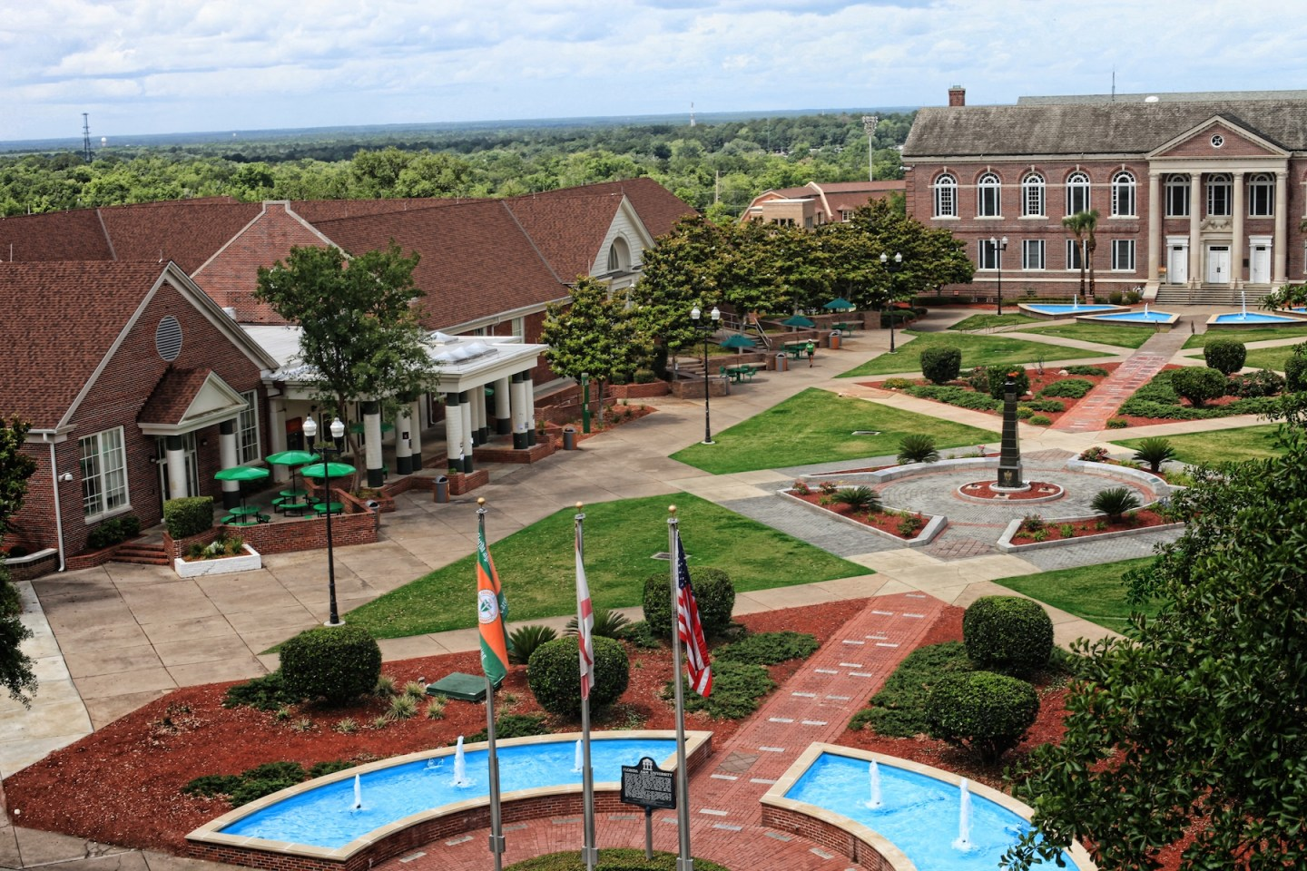 FAMUQuadragle 10 Heavenly HBCU Campuses