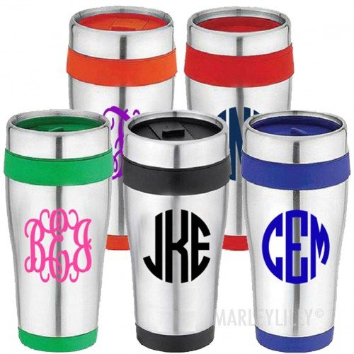 60912 10 Items that Look Better with Monograms!