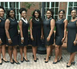 black-dress 10 HBCU Formal Traditions We Love