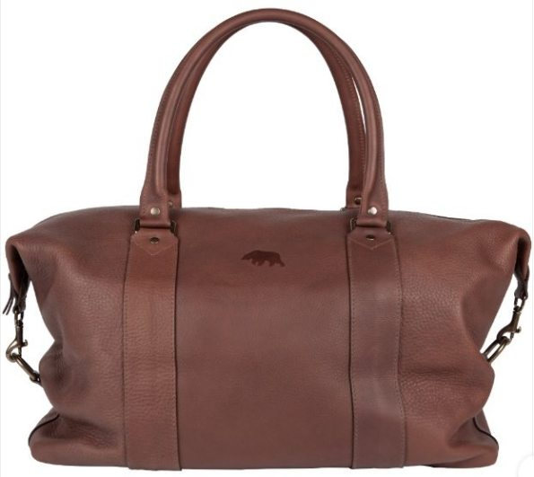 leather-weekender