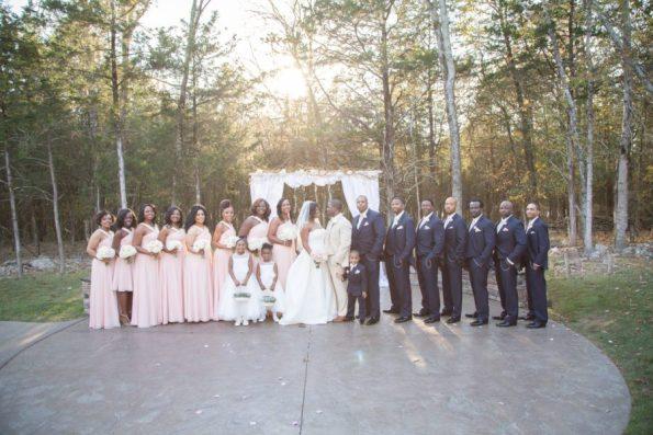 Melanie-Grady-Photography-Narkeita-and-Ivan-540-595x397 Blush Bridal Bliss in Nashville, TN