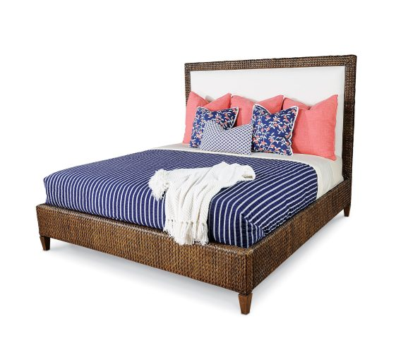 Taylor-King-Denler-Bed-595x513 6 Wicker & Rattan Pieces from Taylor King That We Love