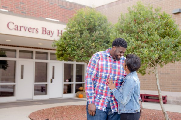 TaylorKwame-31-595x397 Georgetown, SC Engagement Session