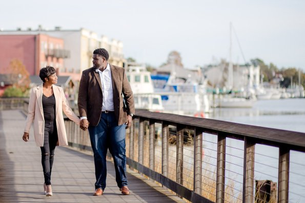 TaylorKwame-43-595x397 Georgetown, SC Engagement Session