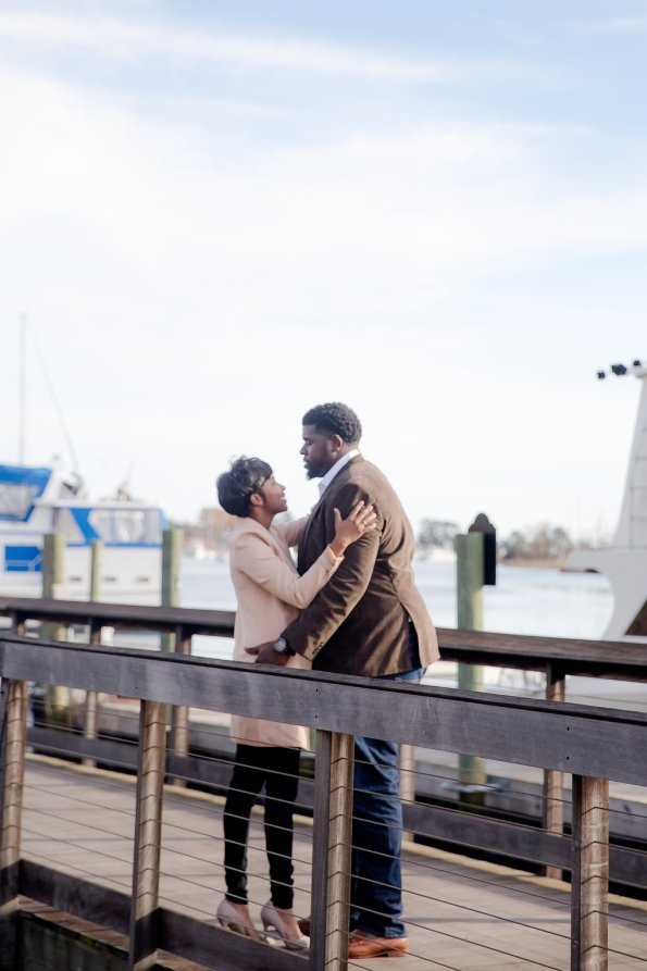 TaylorKwame-44-595x893 Georgetown, SC Engagement Session