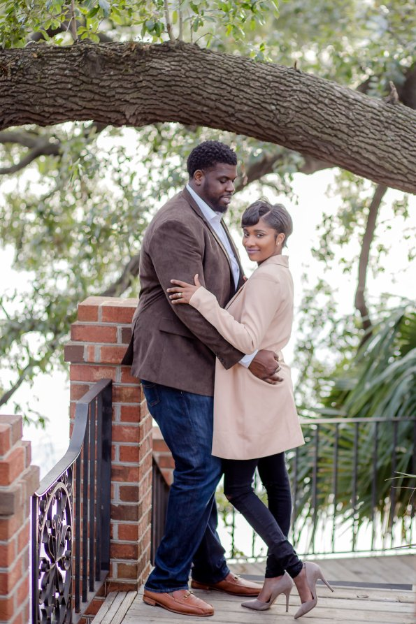 TaylorKwame-68-595x893 Georgetown, SC Engagement Session