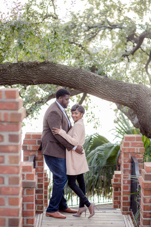 TaylorKwame-69-595x893 Georgetown, SC Engagement Session