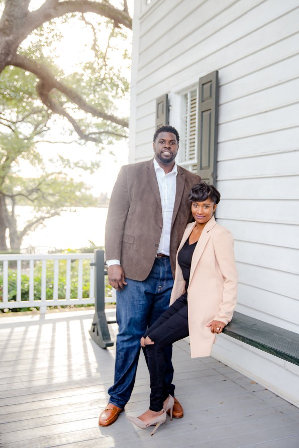 TaylorKwame-86-595x893 Georgetown, SC Engagement Session