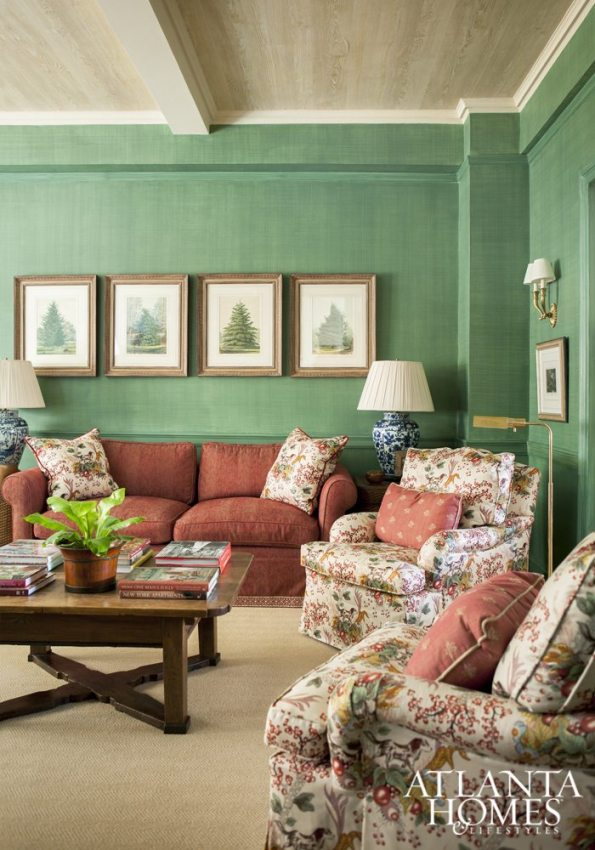 w150619_MargaretKirkland_ParkAve_EGD_045-595x850 5 Greenery Designs and Tips for a Black Southern Belle Home