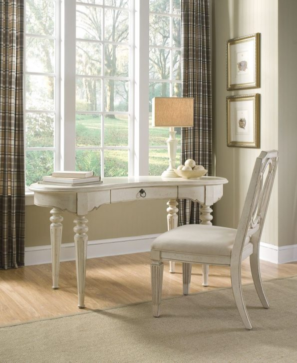 A.R.T.-Furniture-Provenance-Side-Chair-and-Writing-Desk-595x726 6 Office Inspiration Looks for a Black Southern Belle