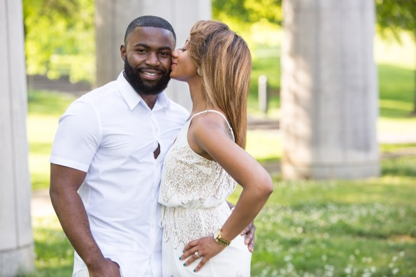 Amber-and-Adrian-Engagement-0005-595x397 Fisk University Love Engagement Session