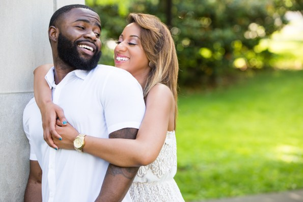 Amber-and-Adrian-Engagement-0011-595x397 Fisk University Love Engagement Session
