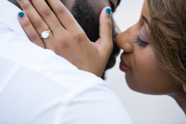Amber-and-Adrian-Engagement-0017-595x397 Fisk University Love Engagement Session