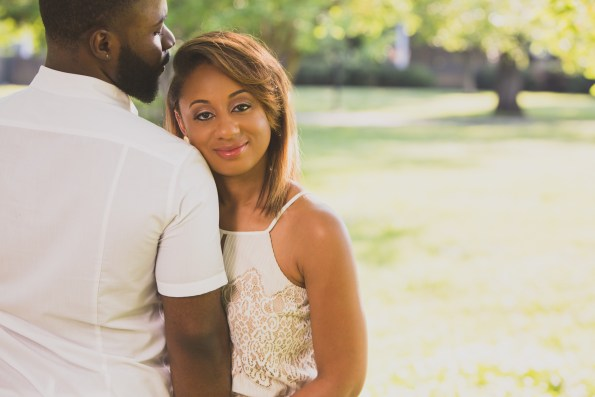 Amber-and-Adrian-Engagement-0033-595x397 Fisk University Love Engagement Session