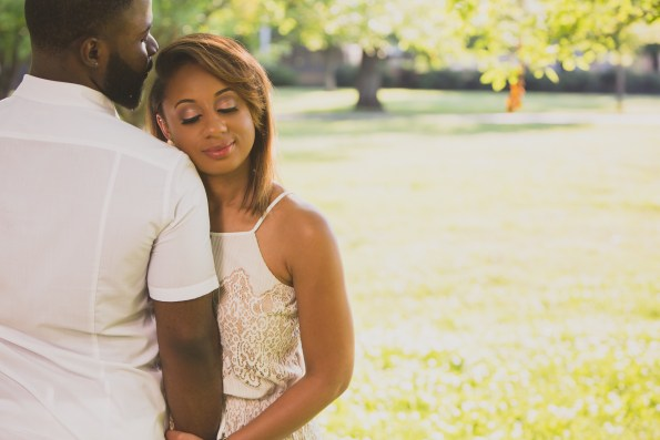 Amber-and-Adrian-Engagement-0034-595x397 Fisk University Love Engagement Session