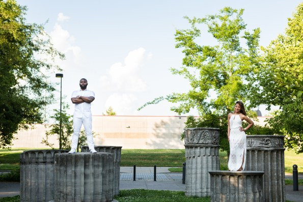 Amber-and-Adrian-Engagement-0044-595x397 Fisk University Love Engagement Session
