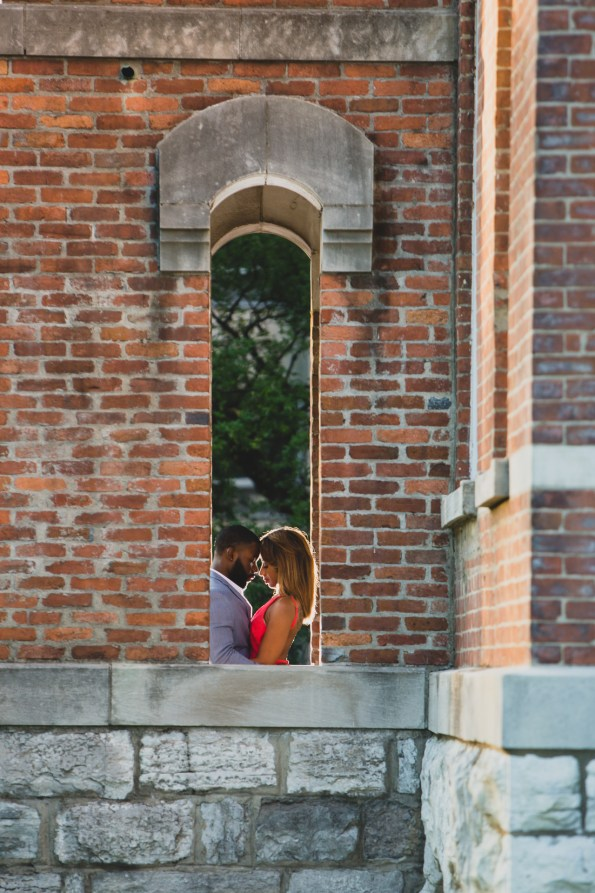 Amber-and-Adrian-Engagement-0050-595x893 Fisk University Love Engagement Session