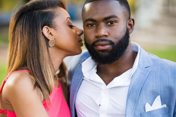 Amber-and-Adrian-Engagement-0056-595x397 Fisk University Love Engagement Session
