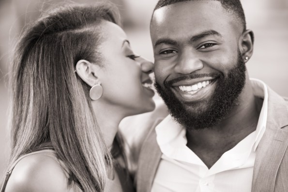 Amber-and-Adrian-Engagement-0058-595x397 Fisk University Love Engagement Session