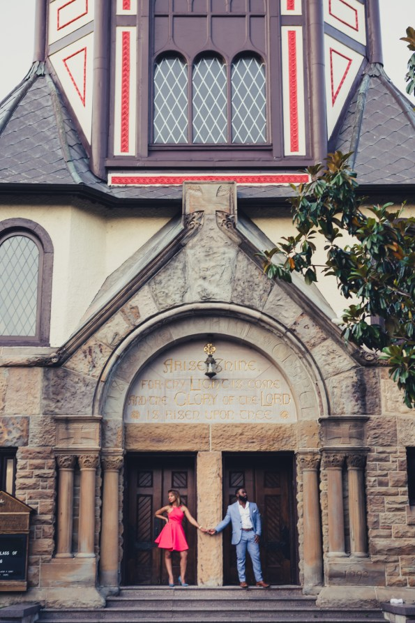 Amber-and-Adrian-Engagement-0065-595x893 Fisk University Love Engagement Session
