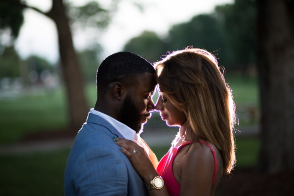 Amber-and-Adrian-Engagement-0069-595x397 Fisk University Love Engagement Session