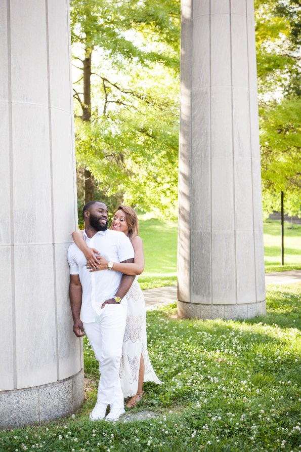 Amber-and-Adrian-Engagement-0075-595x893 Fisk University Love Engagement Session