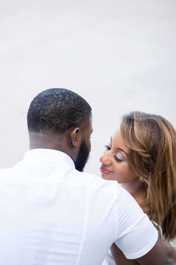 Amber-and-Adrian-Engagement-0076-595x893 Fisk University Love Engagement Session