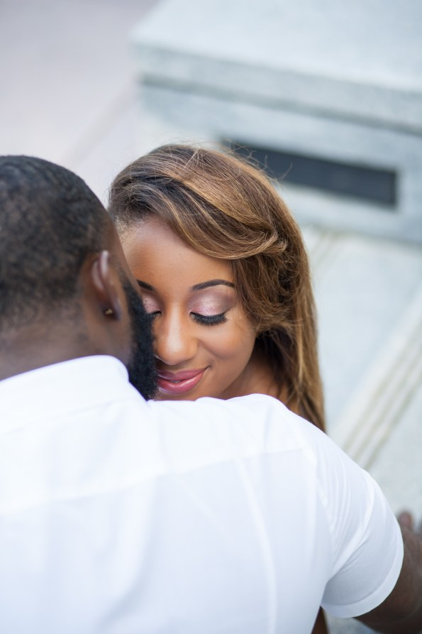 Amber-and-Adrian-Engagement-0078-595x893 Fisk University Love Engagement Session