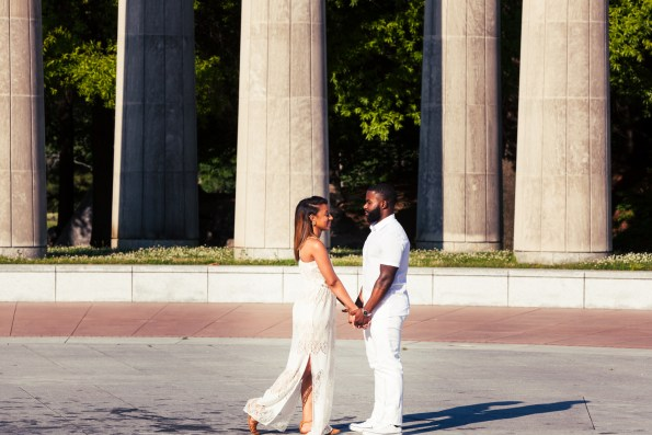 Amber-and-Adrian-Engagement-0079-595x397 Fisk University Love Engagement Session