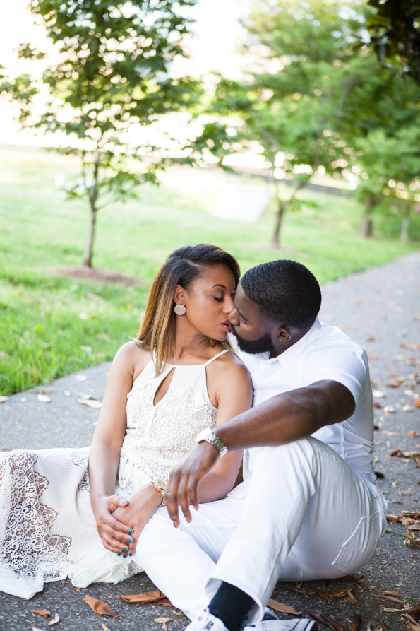 Amber-and-Adrian-Engagement-0083-595x893 Fisk University Love Engagement Session