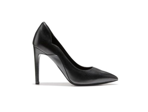 Cole-Haan_GrandRevølution-Antoinette-Pump-100MM_Black-Reflective-595x451 5 Classic Black Shoes Every Black Southern Belle Should Have