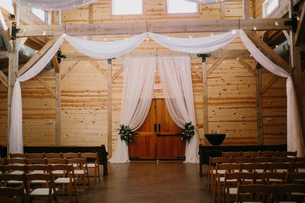 047A8604-595x397 Jackson, TN Chic Barn Wedding