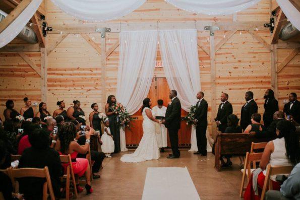 047A8850-595x397 Jackson, TN Chic Barn Wedding