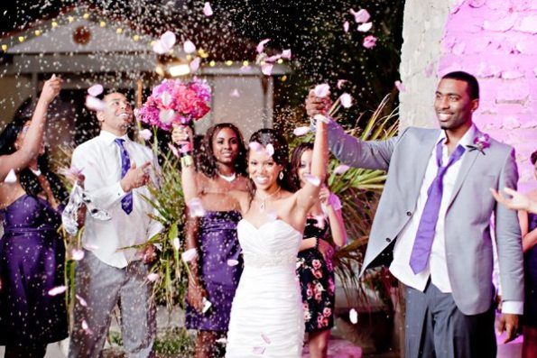 89VillaAntoniaWeddingBrittanyandKeithbyIvyWeddings-595x397 Romantic Texas Villa Nuptials