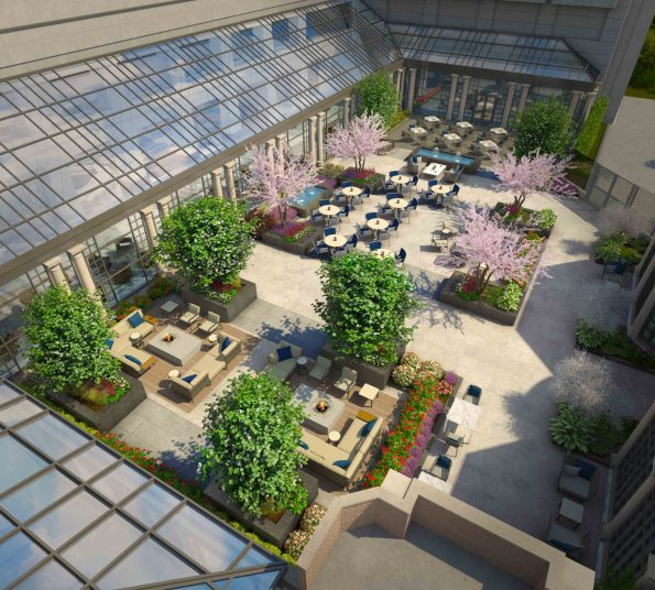 Courtyard-Rendering-08152016-3-595x536 5  Ways to Experience Southern Charm in DC at Fairmont Washington