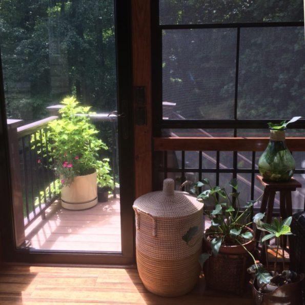 sunroom_baskets-595x595 Tips for Design Inspired by Nature from Winston-Salem Designer