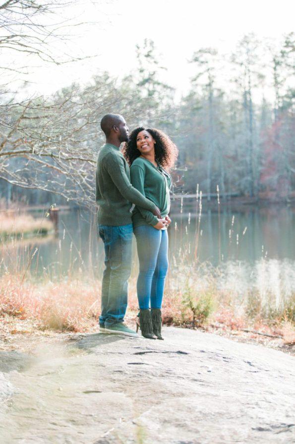 HE7A8007-1-595x893 Atlanta, GA Outdoor Engagement Shoot